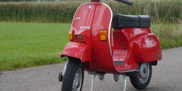 Classic Vespa, vintage ride